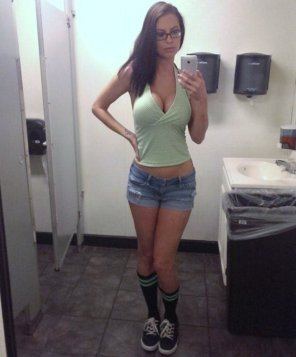 amateur photo Shorts and Glasses