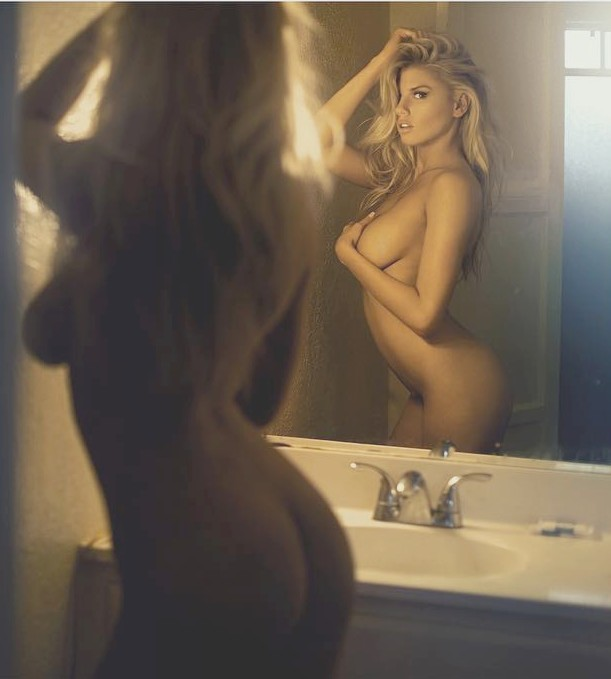 Playboy nude charlotte mckinney apologise, but