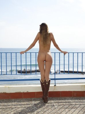 amateur photo Beautiful boots