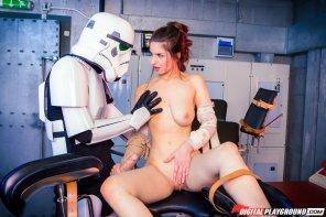 amateur photo Stormtrooper Interrogation