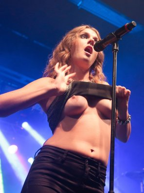 amateur photo Pop singer Tove Lo