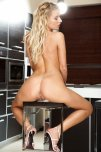 amateur photo Bar Stool Blonde