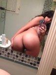 amateur photo Average everyday ass selfie