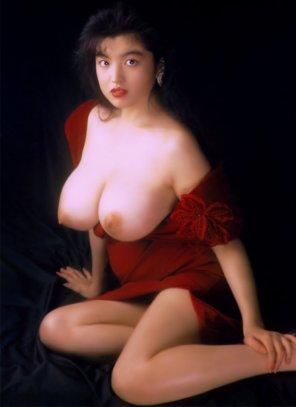amateur photo Before Hitomi there was Kimiko Matsuzaka