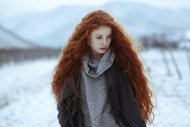 Long Red Curly Hair