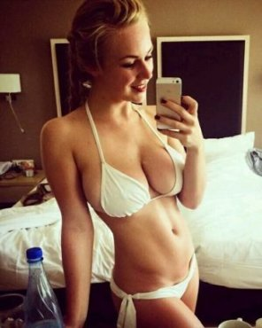 amateur photo Hot bikini selfie