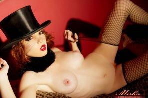 amateur photo Misha - Top Hat