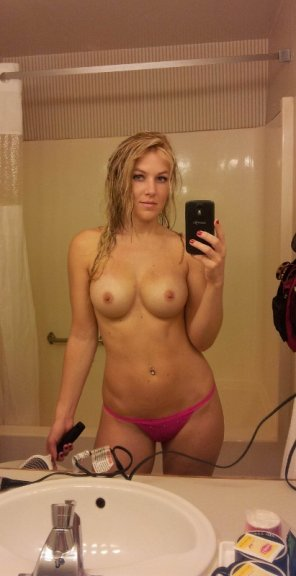 amateur photo Fresh from the shower