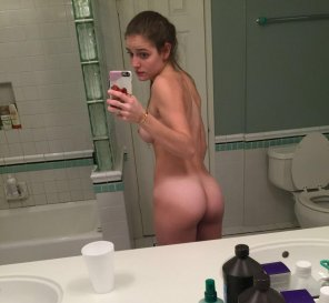 amateur photo PictureA little shy and a little bit naked