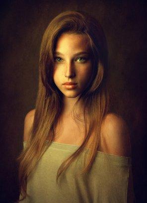 amateur photo Portrait of a woman