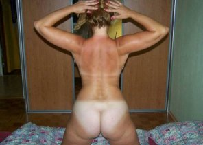 amateur photo Back view