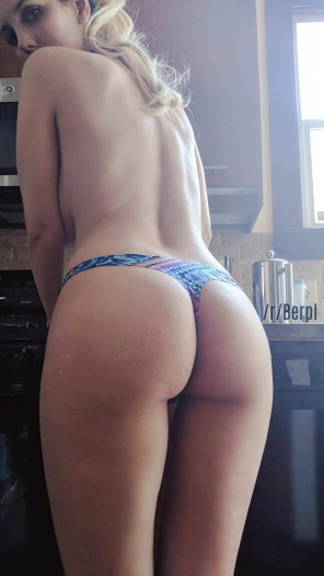 amateur photo Cute little thong