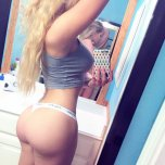 amateur photo Blonde Round Butt