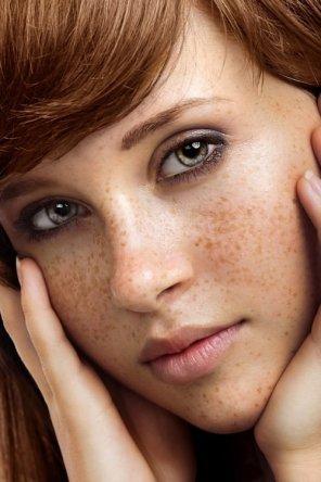 amateur photo Cool redhead