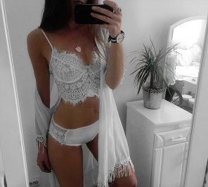 amateur photo Lingerie selfie