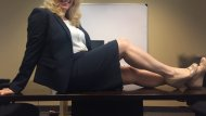 The things I would love to do on this con[f]erence room table...