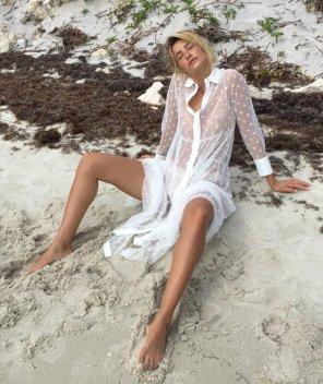 amateur photo On the beach