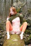 amateur photo Green, Orange, and Pale