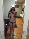 amateur photo In the bathroom