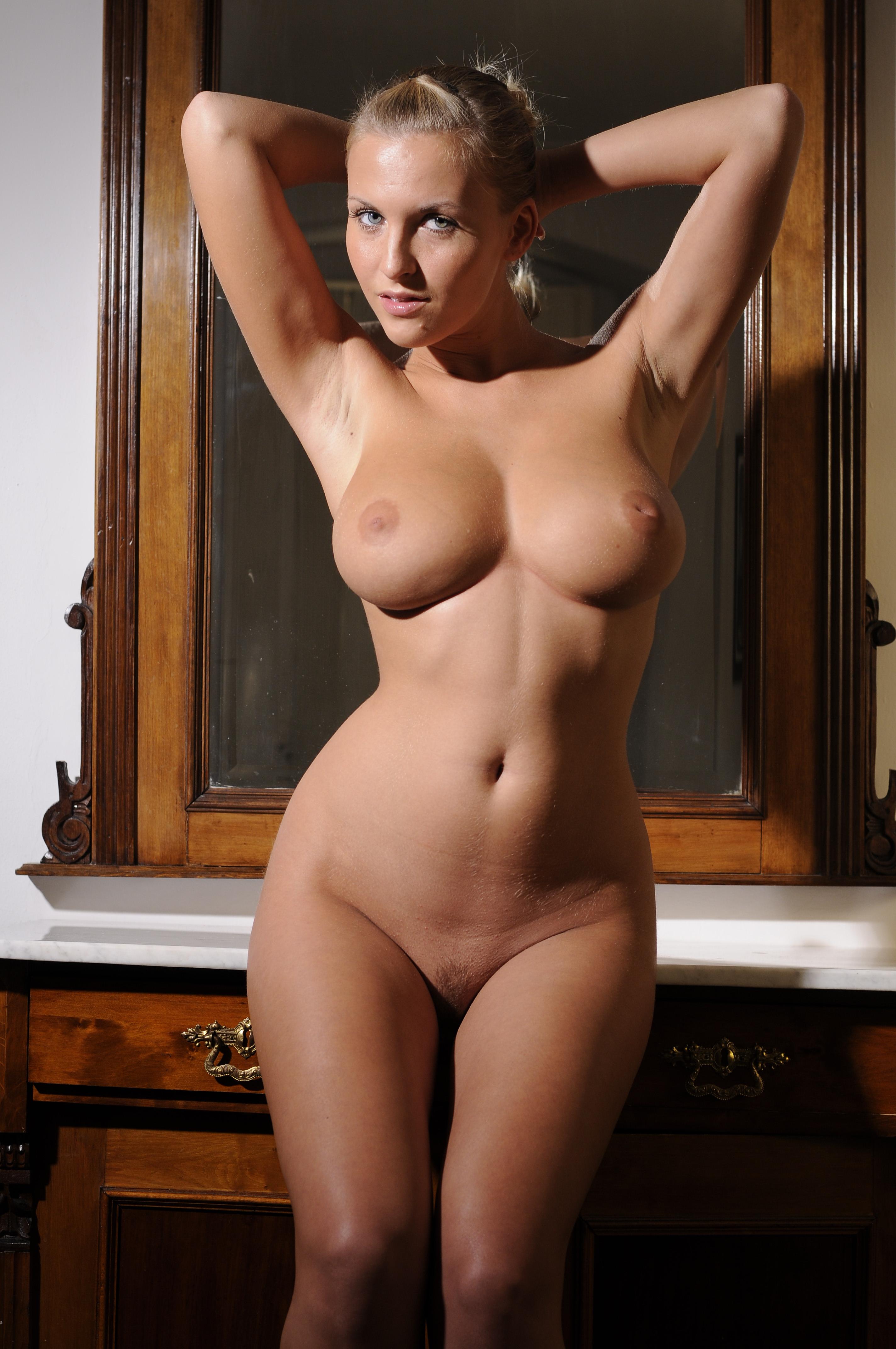Women naked figure hourglass