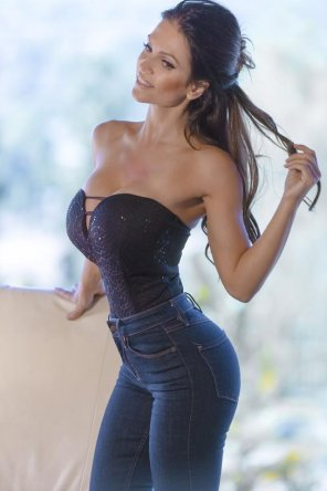 amateur photo Wow, Denise Milani is just...wow