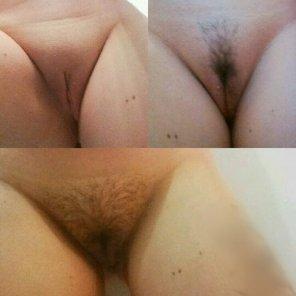 amateur photo Shaved, Landing Strip or natural?