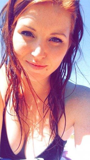 amateur photo Black bikini