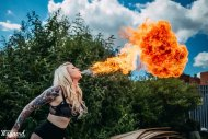 amateur photo Had a fire shoot with the awesome Eddy Maynard, here's a shot he got!