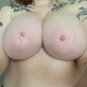 amateur photo I do love being naked. Care to join Miss Tits McGee?