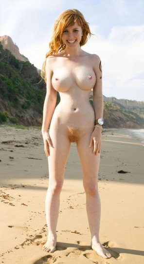 amateur photo Great rack on a beach