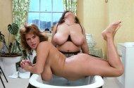 Bathroom fun for Ildiko and Georgiana