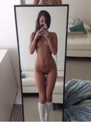 amateur photo Stunning selfie
