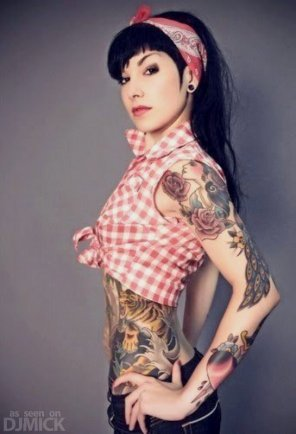 amateur photo rockabilly chick