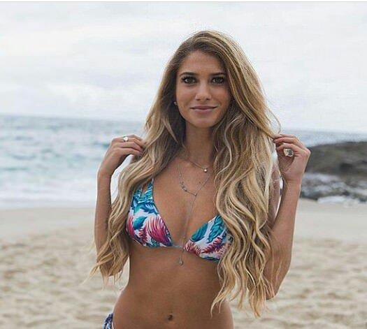 PictureFloral bikini Porn Photo