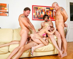 amateur photo gangbang