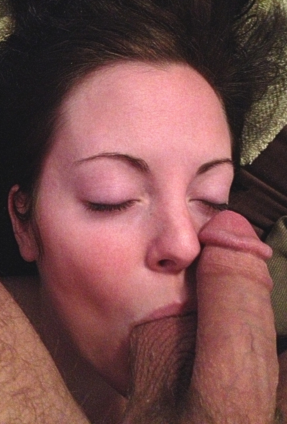 Balls in mouth porn