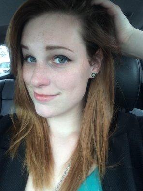 amateur photo Subtle Frecklage and Stunning Eyes