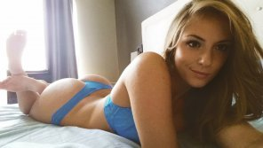 amateur photo PictureBlue Thong