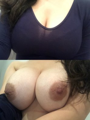 amateur photo I hide these under my top at school 👀 [F20]
