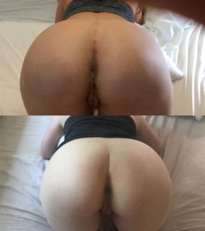 amateur photo Her pussy is the same, but sadly her ass got fatter and paler