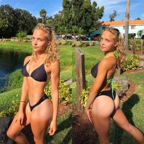 amateur photo blonde goddess