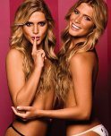 amateur photo Only in Brazil do they make them like the Feres twins.