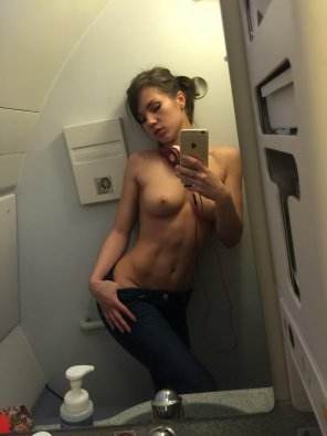amateur photo Ad for the Mile high club?