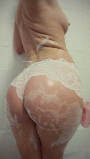 amateur photo Mmmm Soap and lace