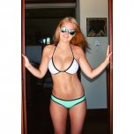 amateur photo Simple Bikini