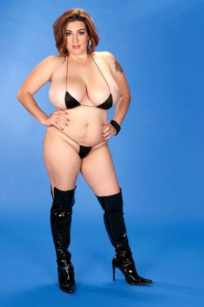 amateur photo That is one tiny bikini