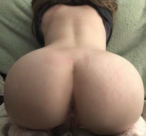 amateur photo My Ass has Always Been Big [f]or My Size ;)