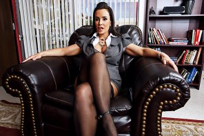 amateur photo Naughty boss Lisa Ann