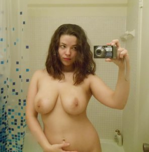 amateur photo Bathroom mirror