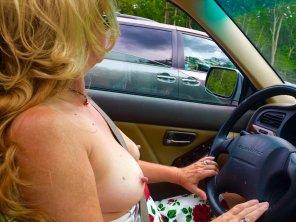 amateur photo Nice and Big Nipples